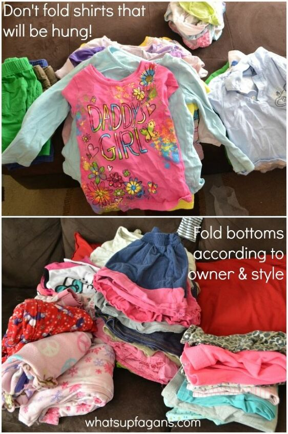 4 quick tips for making putting away clothes less dramatic
