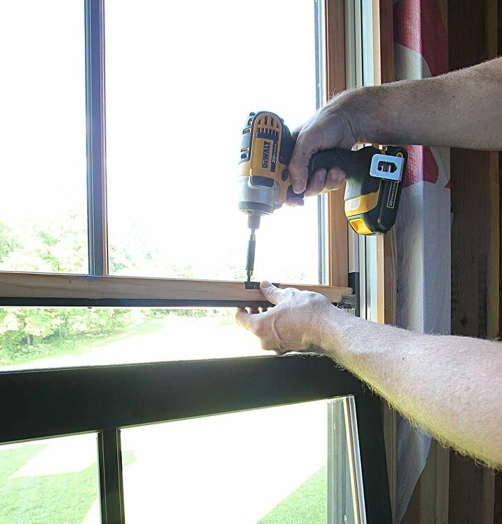 how to paint windows black no taping required