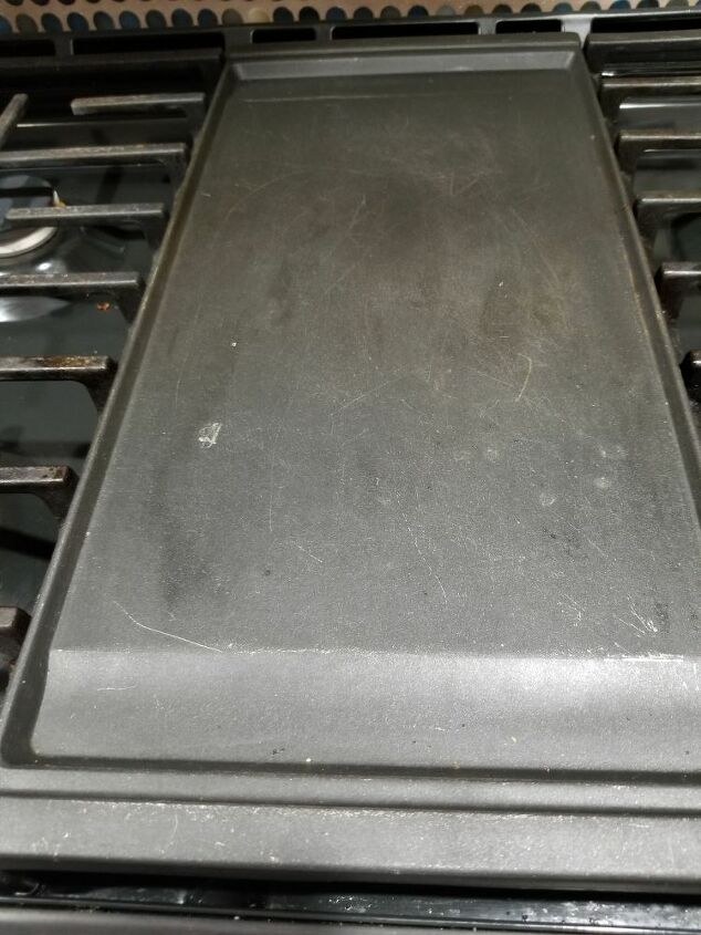 q how do i clean my stove grill new stove lost paperwork
