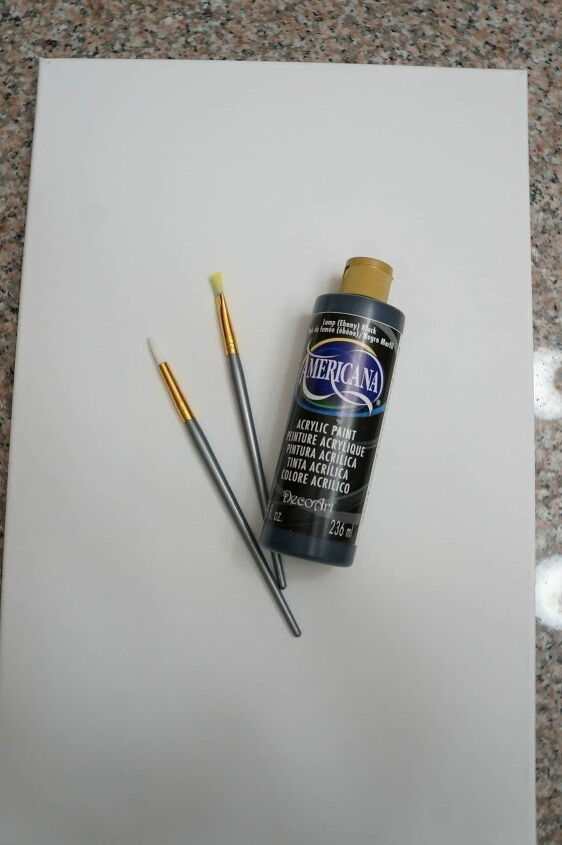 how to create an inexpensive framed canvas