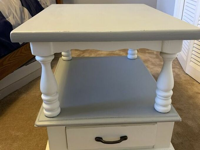 q how to add dark wax over finished chalk paint