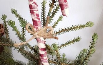 Primitive Candy Cane Christmas Ornaments