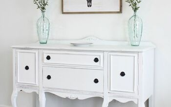 Vintage Buffet Makeover - Trash to Treasure