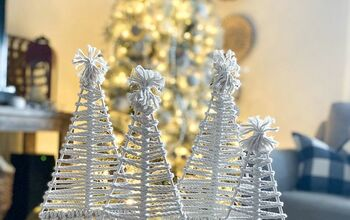 DIY Macrame Christmas Trees