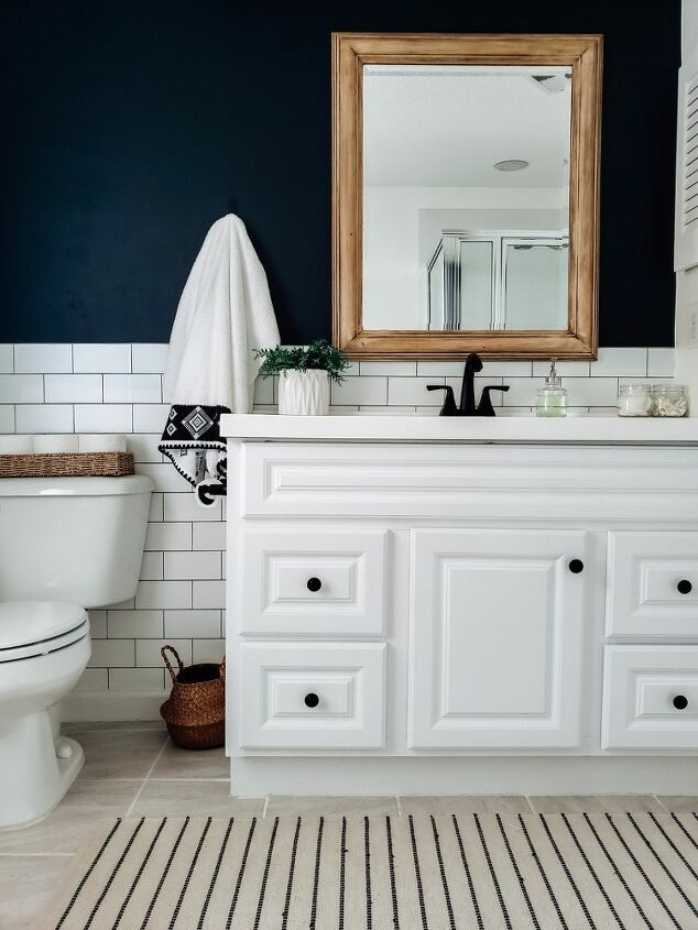 How To Make A Bathroom Remodel On Budget Diy Hometalk