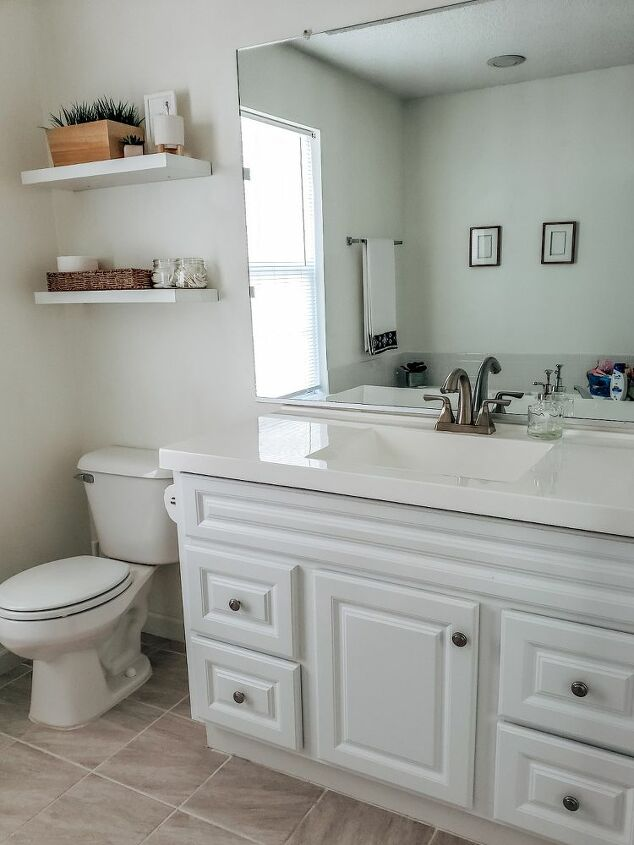 bathroom remodel on a budget