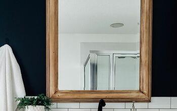 DIY Mirror Remodel