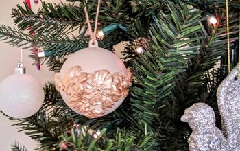 Unique & Elegant Christmas Ornaments Using Paper Clay & Silicone Molds