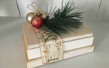 Holiday Decor-Stack of Books