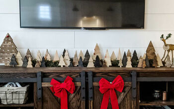 DIY Wood Christmas Trees