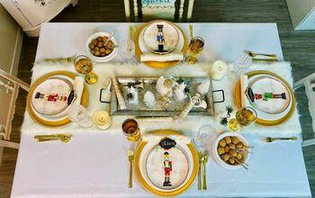 Nutcracker Christmas Table Setting for the Holidays!