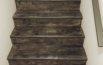 Makeover Your Stairs . . . Urban Rustic Style