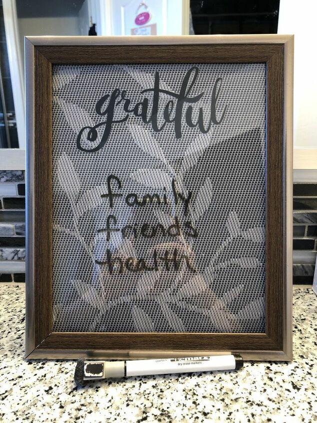 diy reusable grateful board