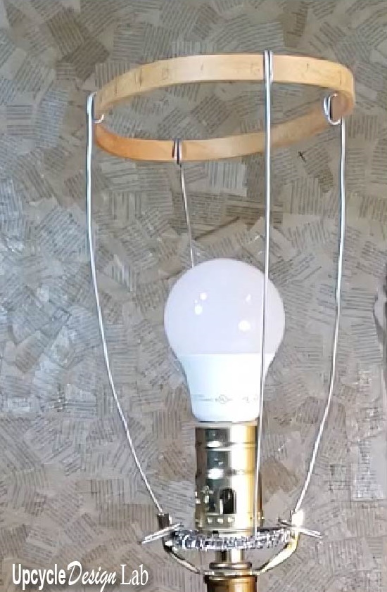 lamp revamp extreme upcycling craft room makeover