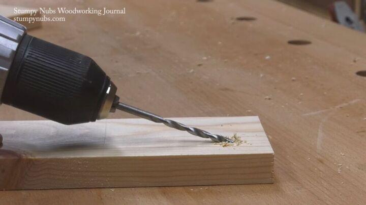 drill a pocket hole