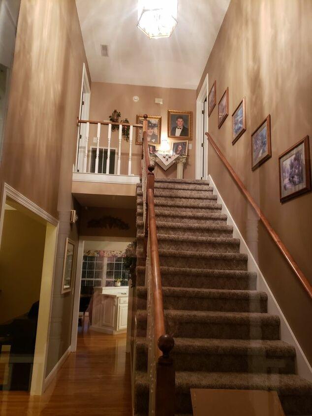 q change foyer chandelier