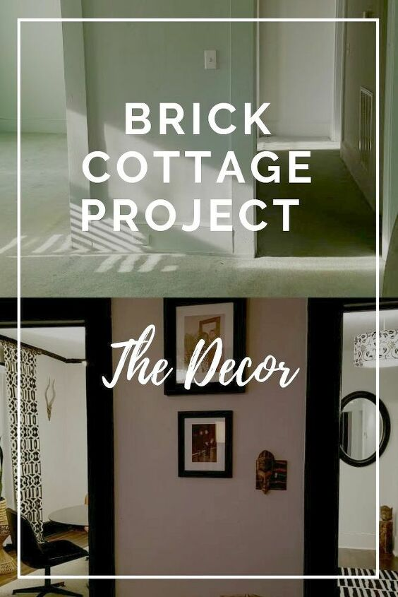 brick cottage decorate on a budget