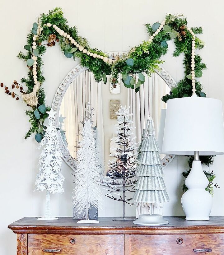 how to transform a dollar store garland into high end christmas decor