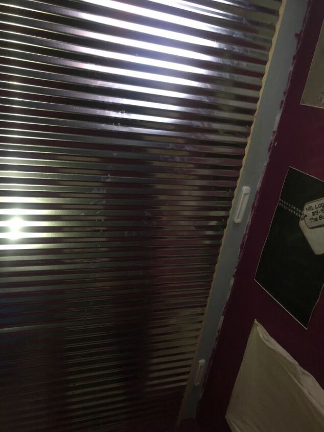 q how can you cover or ceiling light with out using the metal sheet