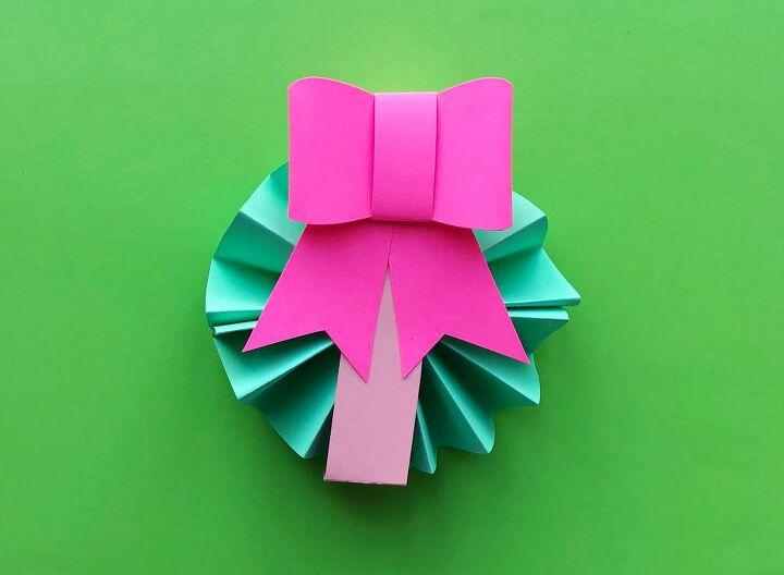 diy paper rosette ornaments