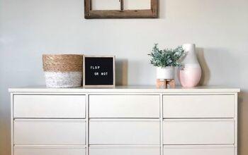 Painting Laminate Furniture - Dresser