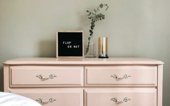 Pink French Provincial Dresser