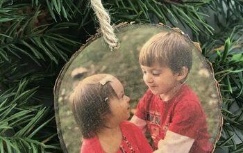 Photo Transfer Wood Ornaments