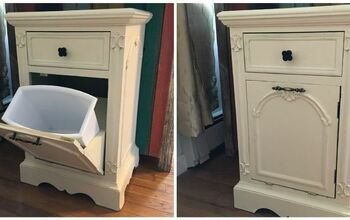 Trash Can Tilt Cabinet