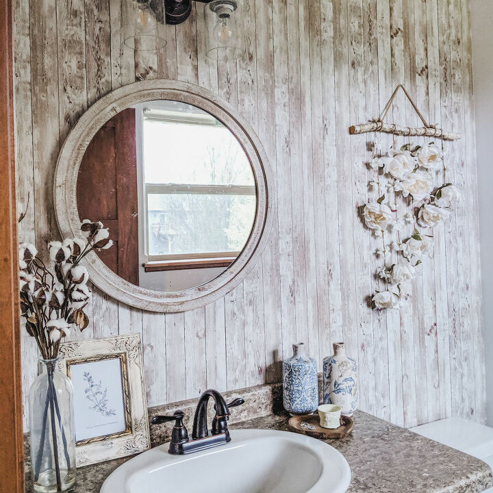 how to transform a room with removable wallpaper