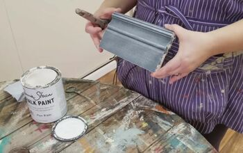 DIY Antiques: Age Wood Decades in Moments With Dry Brush Painting