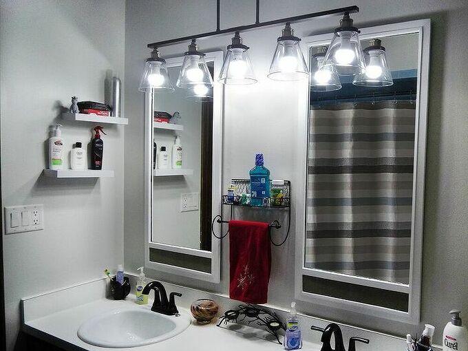 updating bathroom mirrors