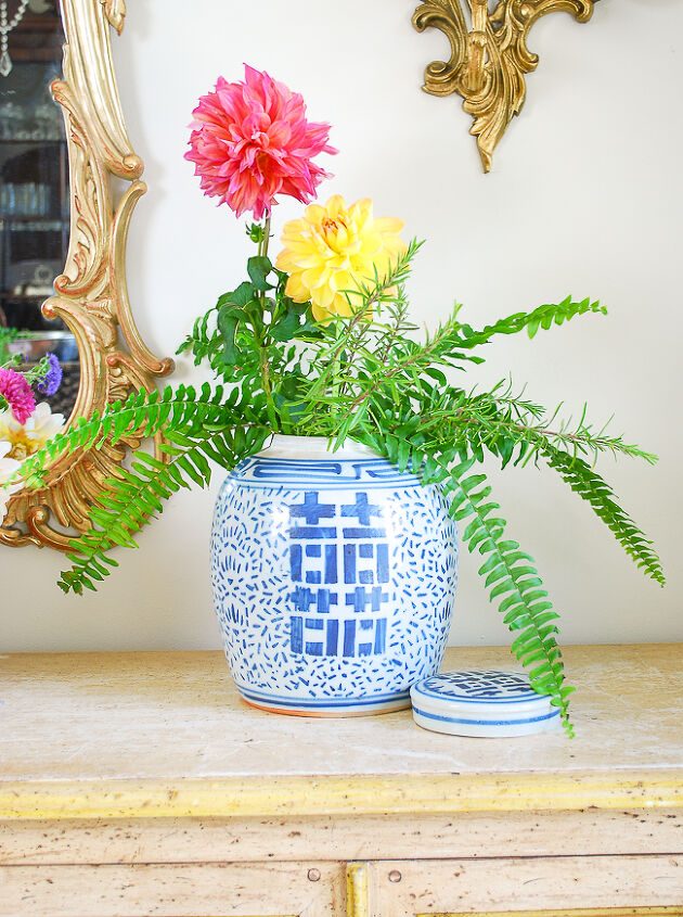 how to get the perfect ginger jar floral arrangement