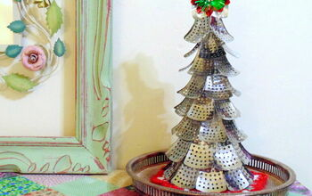 DIY Repurposed Christmas Tree