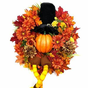 Wow your guests with this Thanksgiving wreath