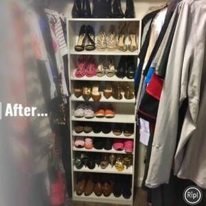 Maximize your shoe storage