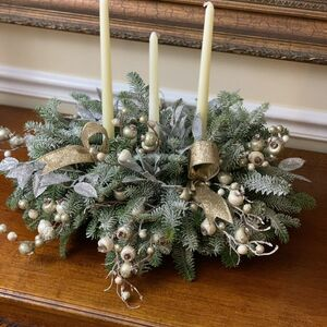 Design a fresh candle centerpiece!