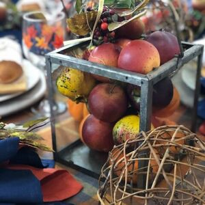 Wow your guests with this Thanksgiving tablescape