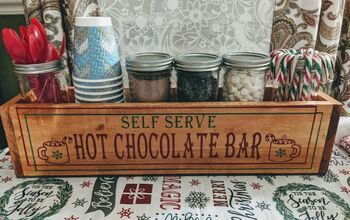 Baby It's COLD...so Make a Hot Cocoa Bar!