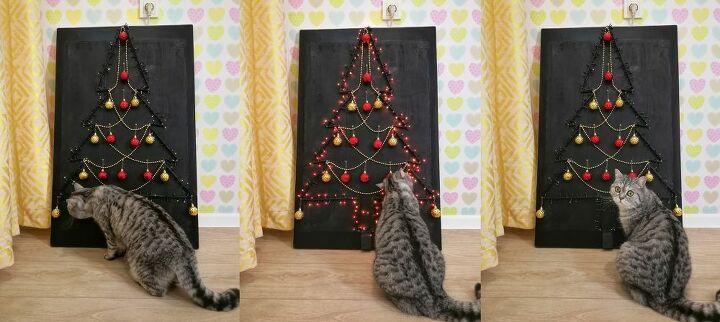 anti cat christmas tree