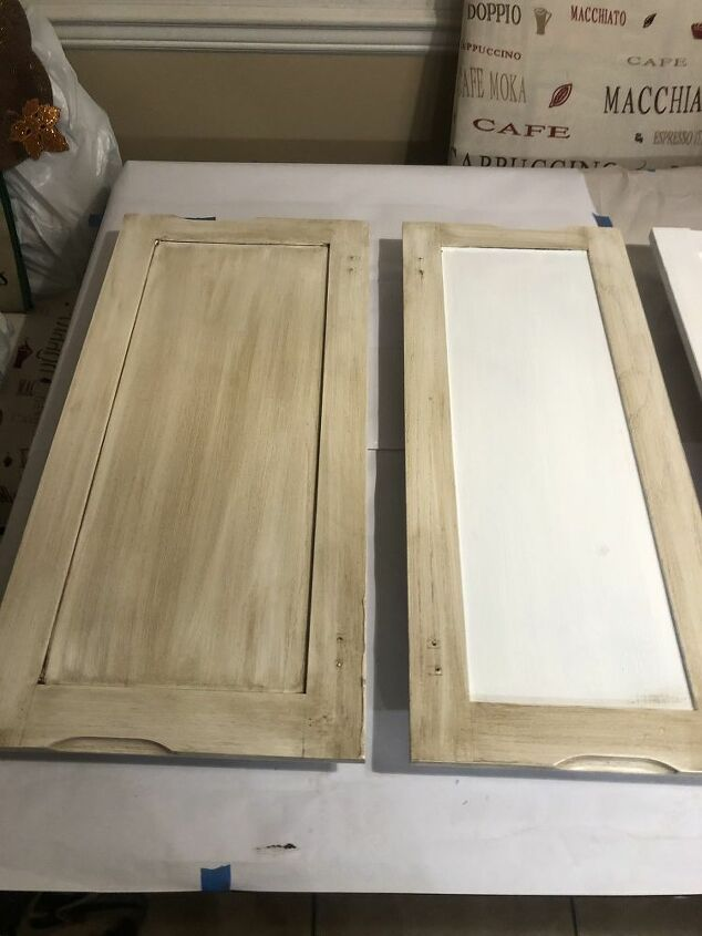 Glazing - before and after