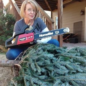 Cut up your Christmas tree