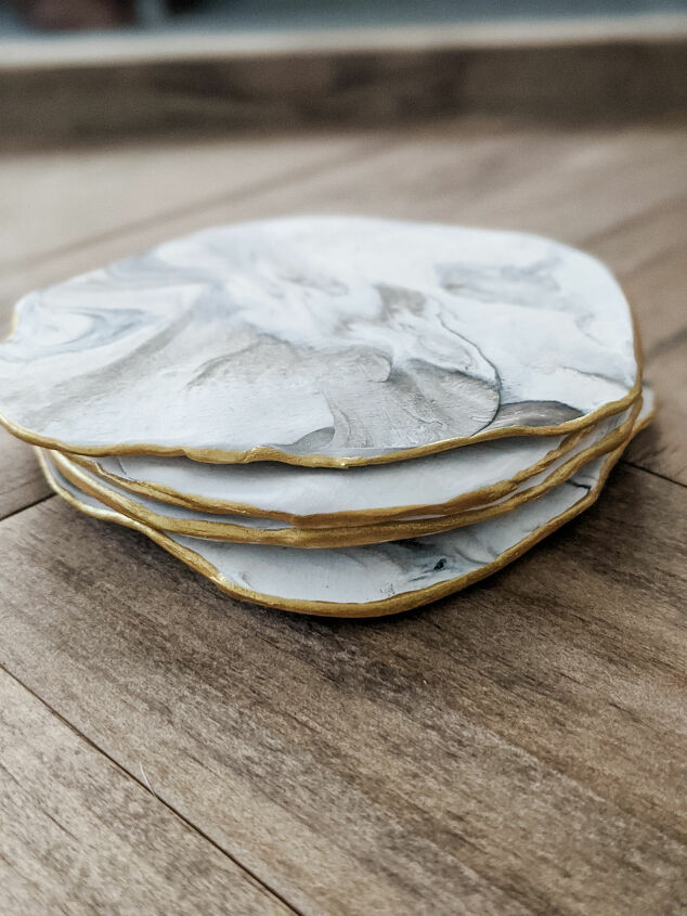 s 15 diy gifts you can still make today but actually, Roll out some clay coasters