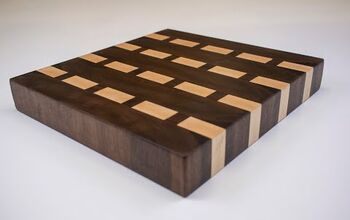 End Grain Butcher Block Cutting Board.