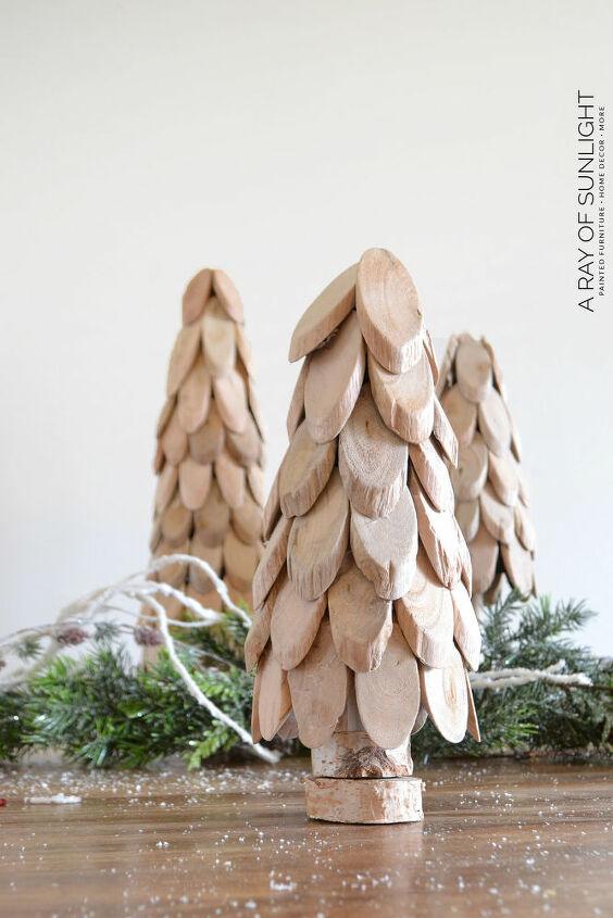 diy wood christmas trees