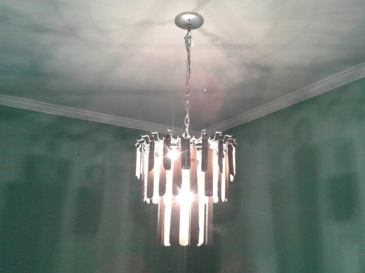 Chandalier with the Light On