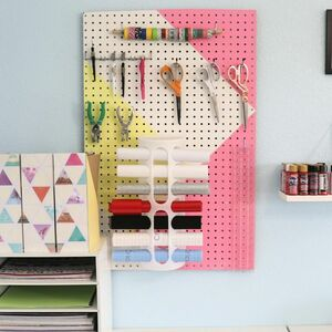 Eliminate craft clutter with this genius organizing solution