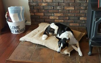 $5 Earth Friendly Coffee Sack Dog Bed