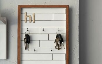 DIY Key Holder With Modern Farmhouse Style