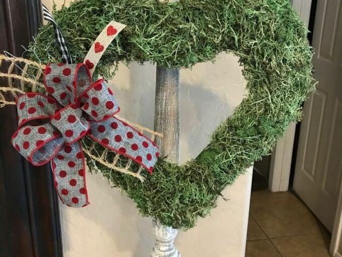 farmhouse heart wreath