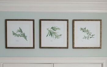 How-to Hang Artwork Evenly in a Row